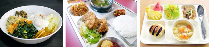 学校で提供されるお食事はどういったものでしょうか?