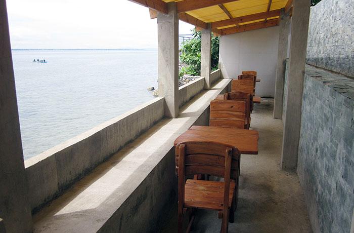 フィリピン留学 English Fella - 海沿いの自習スペース
