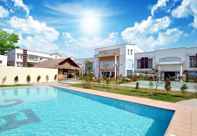 フィリピン留学 EG Academy - EG Academy キャンパス全景
