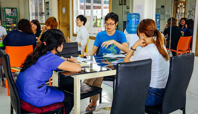 フィリピン留学 First English Global College in セブ島 - Group Class
