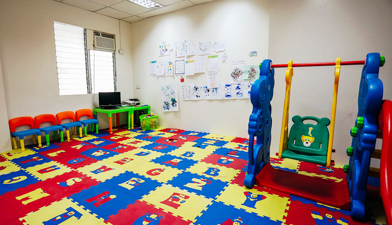フィリピン留学 First English Global College in セブ島 - Nursery Room