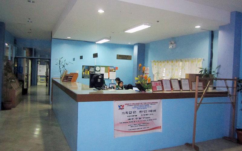 フィリピン留学 HELP LONGLONG - 受付