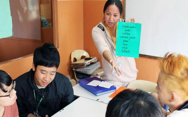 フィリピン留学 HELP LONGLONG - グループレッスン