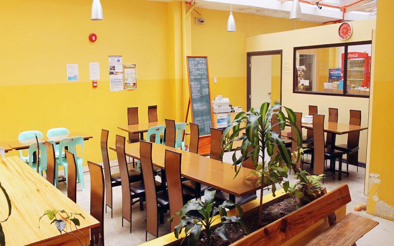 フィリピン留学 HELP LONGLONG - カフェ