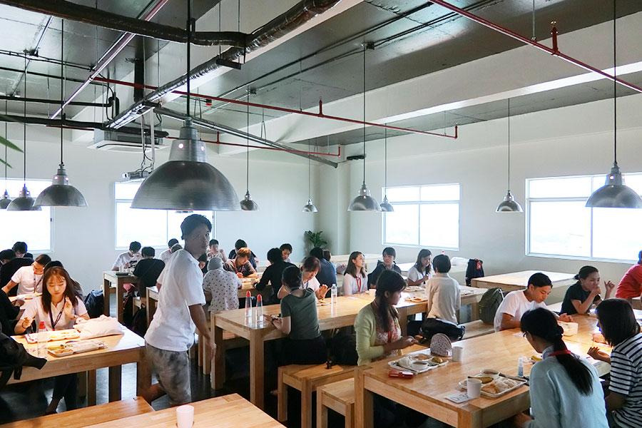 フィリピン留学 IDEA Academia - 食堂