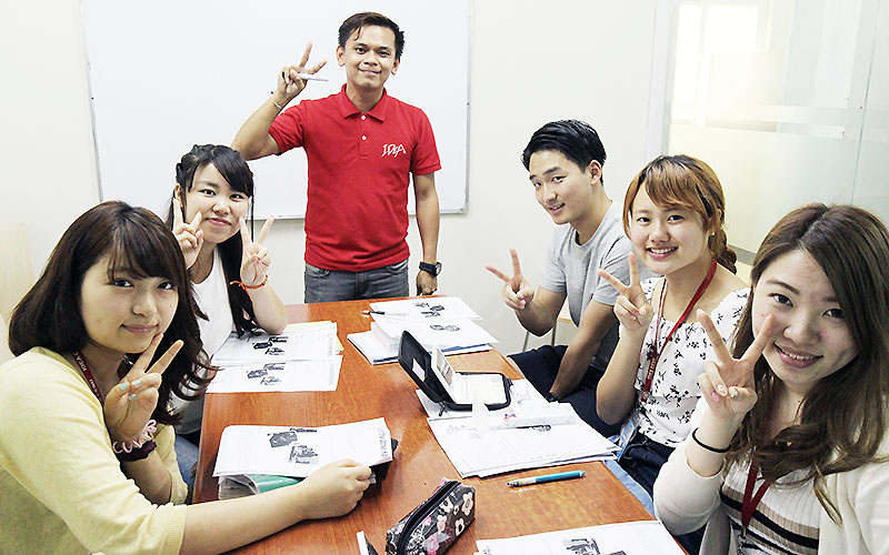 フィリピン留学 IDEA CEBU - group class8