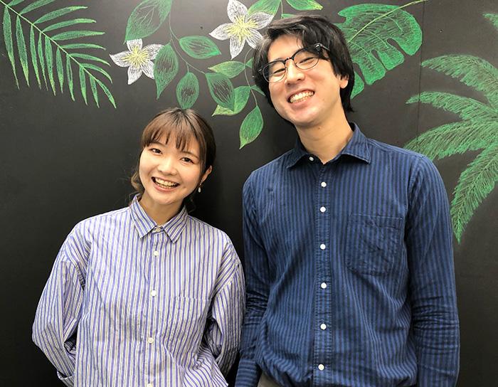 元テレビADの山本(普段は留学カウンセラー兼動画クリエイターとして勤務)と、ディレクターの中居