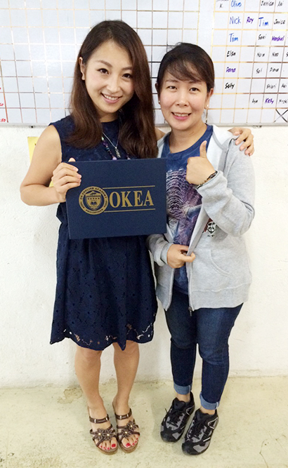 OKEA - フィリピンの英語に関して