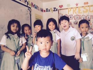BAYSIDE - フィリピンで息子さんと短期留学しようと思ったきっかけは何ですか?