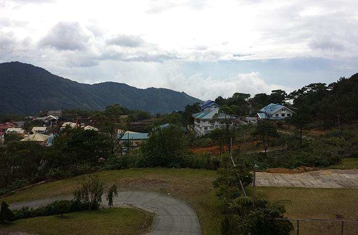 フィリピン留学 BECI バギオ キャンパスからの風景 by CEBU21
