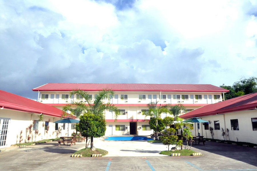 フィリピン留学 C2 Ubec English Academy - 学校外観