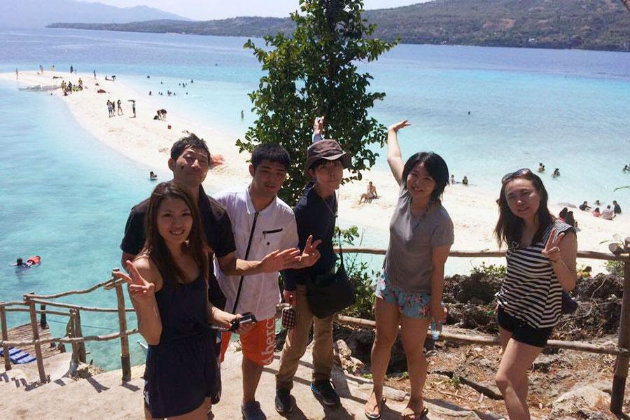 フィリピン留学 C2 Ubec English Academy - アイランドホッピング