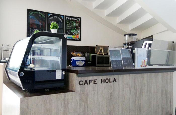 フィリピン留学 JIC CEBU - 本格的なカフェスタンド シェイクやコーヒーが人気!