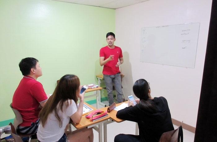 フィリピン留学 JIC CEBU - グループクラス