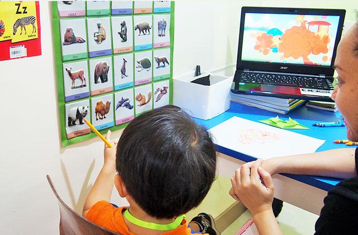 フィリピン留学 JIC CEBU - お子様向けのマンツーマン授業