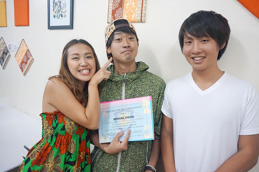 フィリピン留学 Cebu English Academy - 卒業式