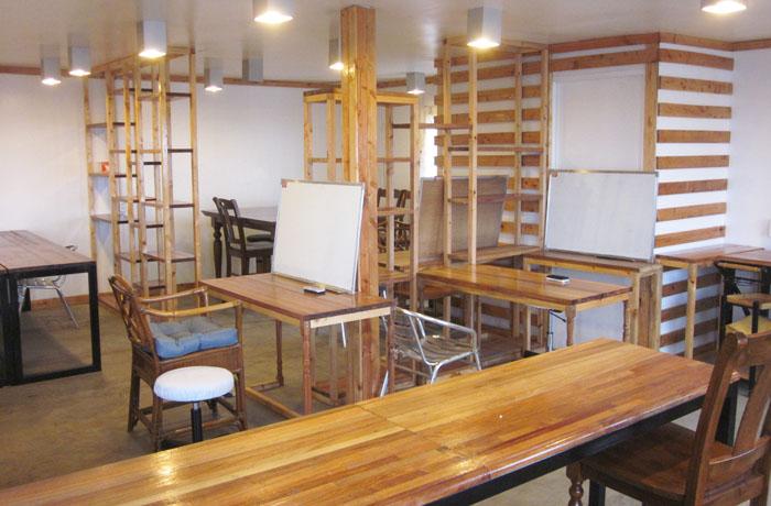 フィリピン留学 JIC CEBU - 最上階の自習室