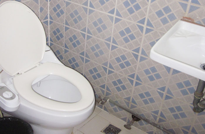 フィリピン留学 JIC CEBU - トイレ