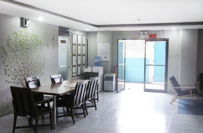 フィリピン留学 JIC CEBU - 校舎入口