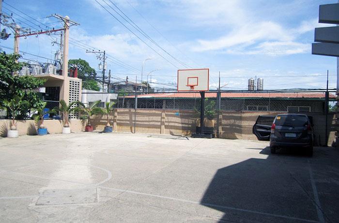 フィリピン留学 JIC CEBU - バスケットコート