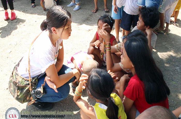 フィリピン留学 JIC CEBU - ボランティア体験_II