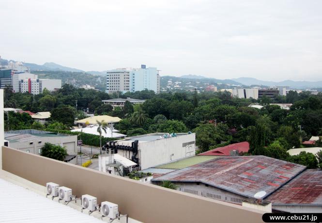 フィリピン留学 JIC CEBU - 屋上からの眺め