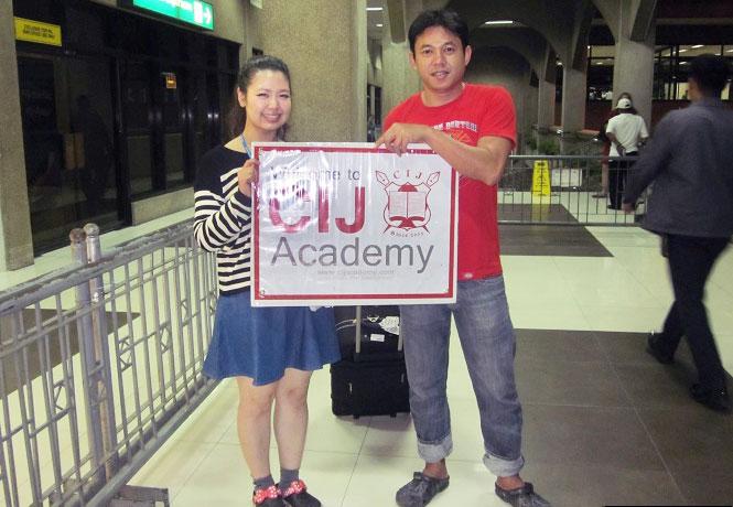 フィリピン留学 JIC CEBU - 空港ピックアップ