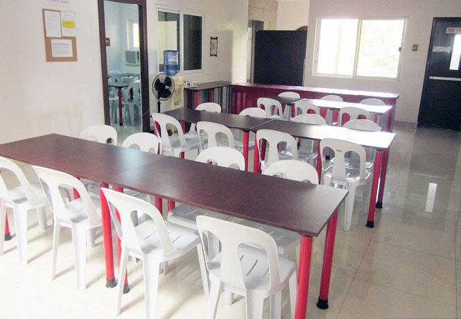 フィリピン留学 JIC CEBU - 学食コーナー