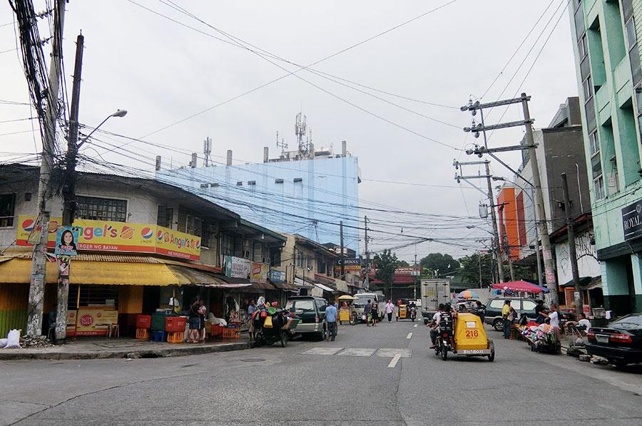 フィリピン留学 CNN International Language School  寮周辺の様子