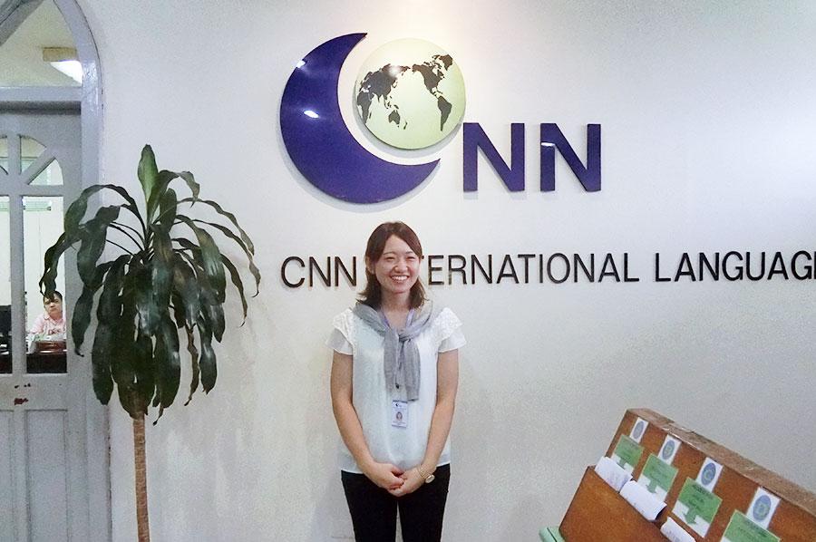 フィリピン留学 CNN International Language School  日本人スタッフの永村さん