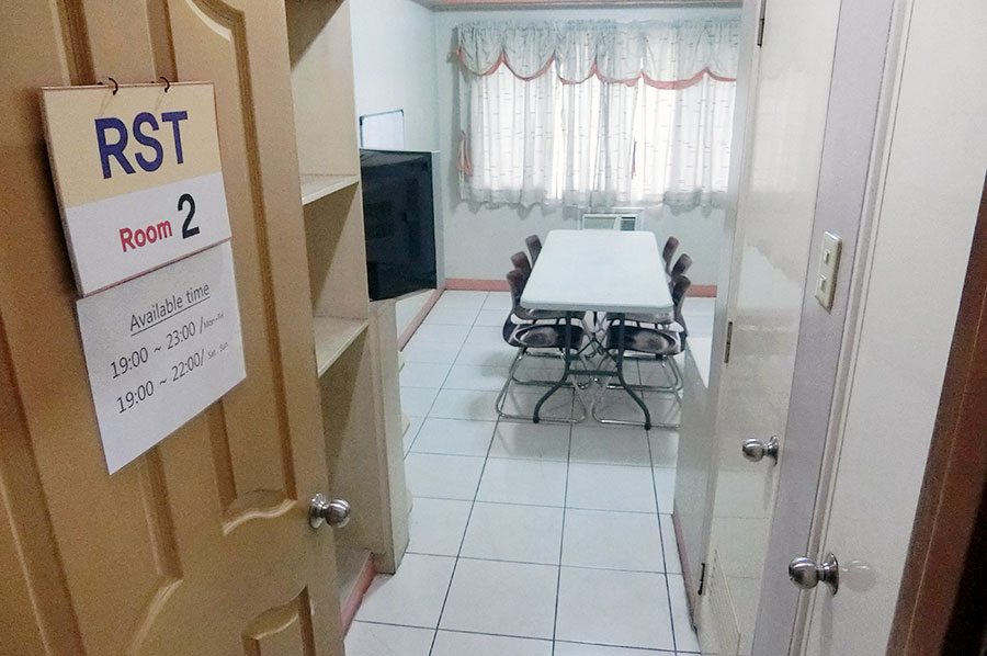 フィリピン留学 CNN International Language School  RST授業教室(寮内にあり)