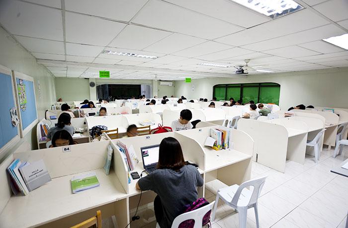 フィリピン留学 English Fella 2 - 自習室