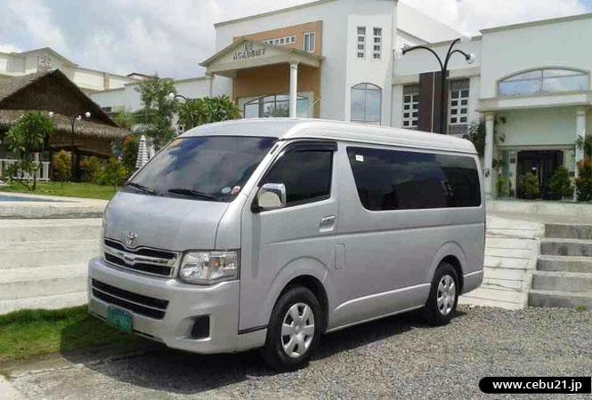 フィリピン留学 EG Academy - 空港までの復路送迎車両