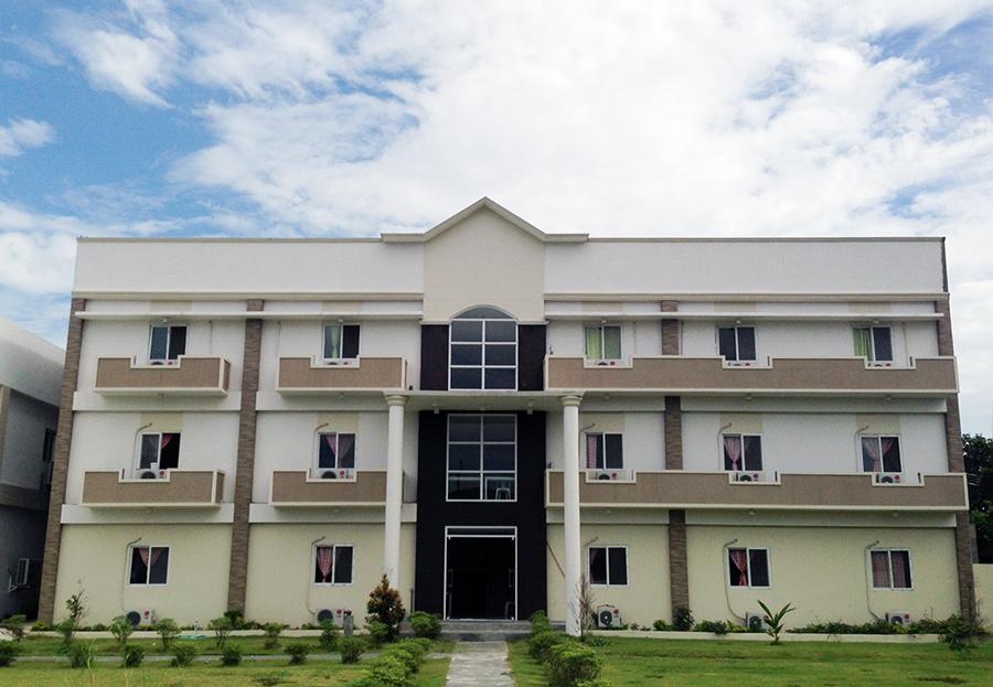 フィリピン留学 EG Academy - 第2ドミトリー外観
