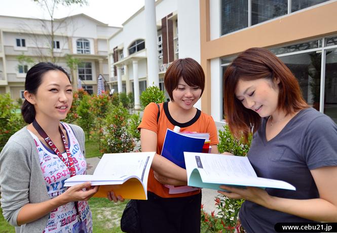 フィリピン留学 EG Academy - 休憩時間の学生たち