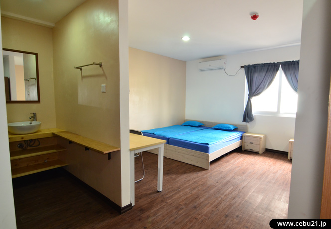 フィリピン留学 EG Academy -  3、4人部屋