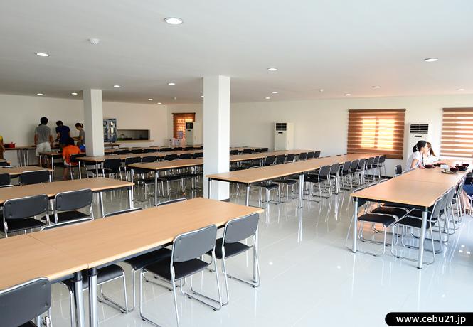 フィリピン留学 EG Academy - 食堂