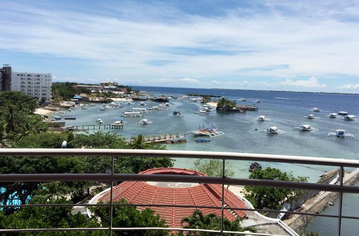 フィリピン留学 JIC CEBU - お部屋からの景色