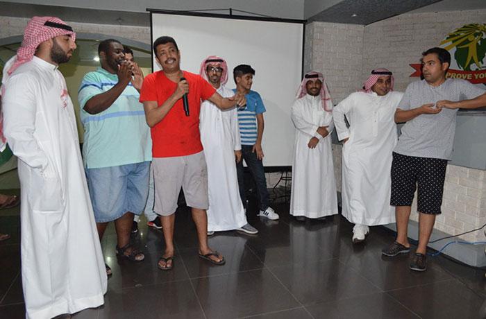 フィリピン留学 JIC CEBU - アラブ人パーティー