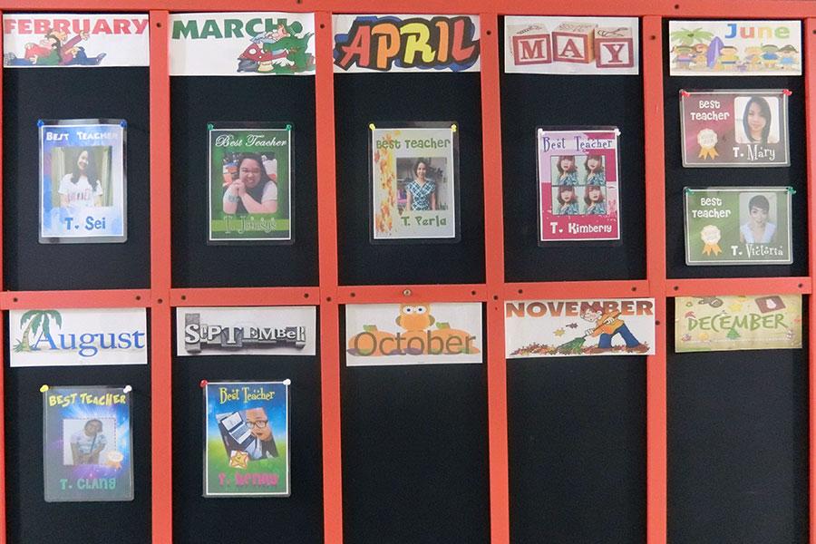 フィリピン留学 HELP Clark 講師の評価システムを設けています
