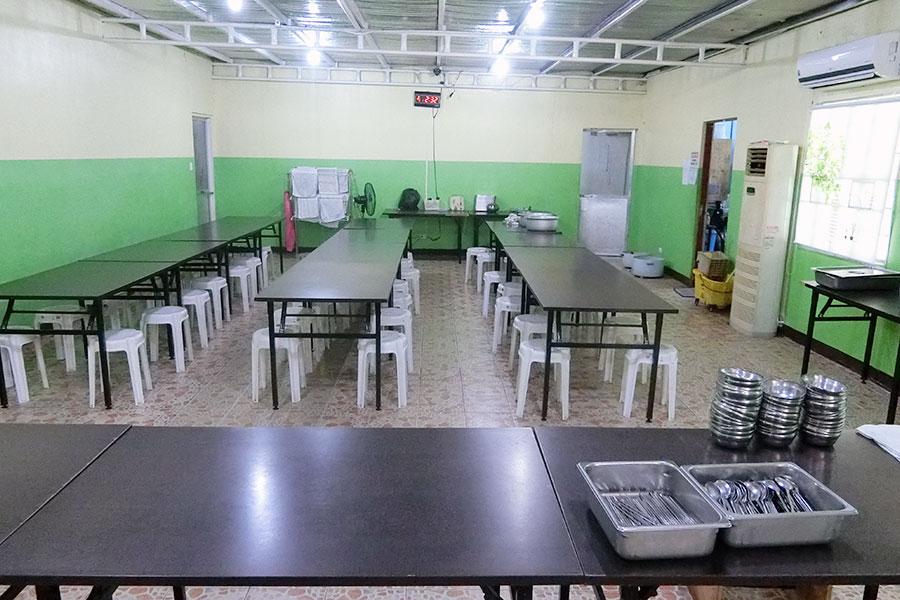 フィリピン留学 HELP Clark 食堂