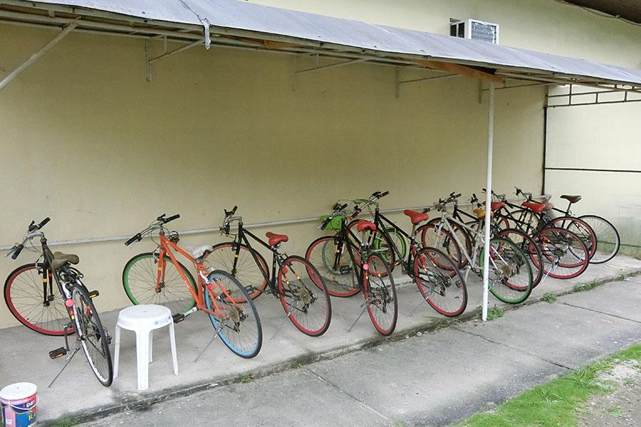 フィリピン留学 HELP Clark 自転車のレンタルも可能(有料)