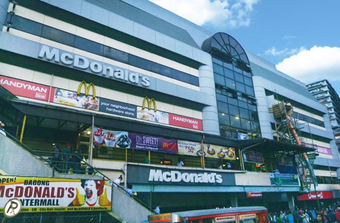 フィリピン留学 JIC BAGUIO - 周辺環境:センターモール(タクシー15分)