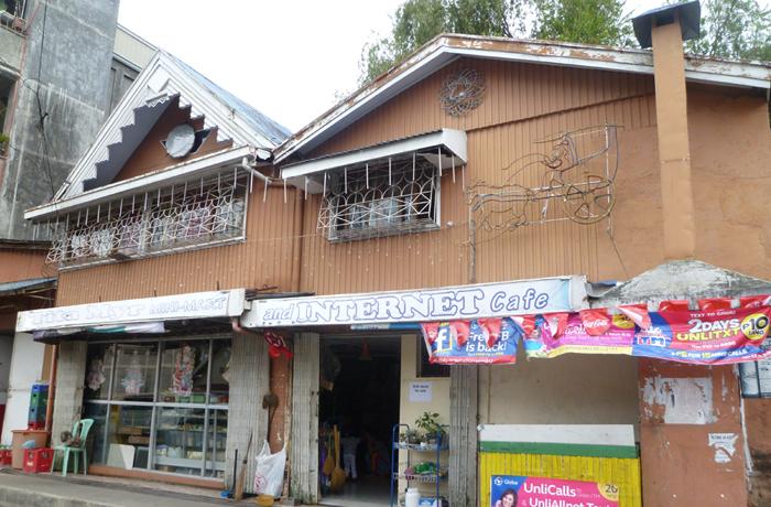 フィリピン留学 JIC BAGUIO - 周辺環境:食料・雑貨店(徒歩7分)
