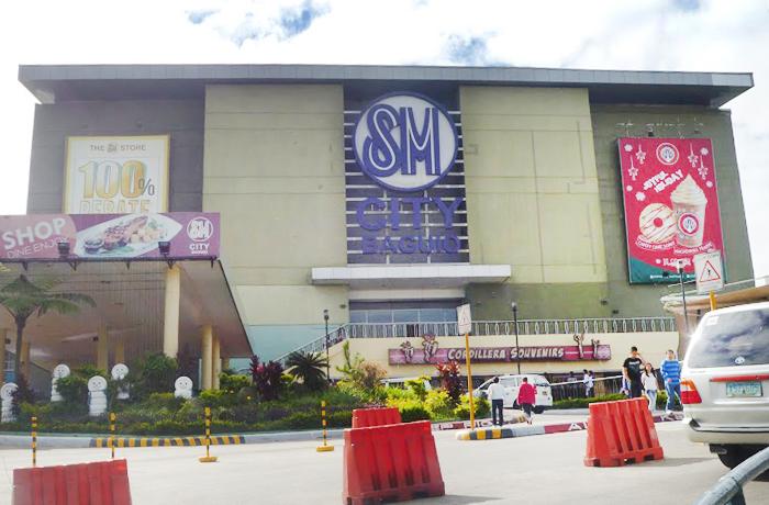 フィリピン留学 JIC BAGUIO - 周辺環境:SM モール(タクシー10分)