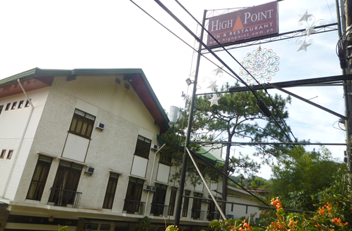 フィリピン留学 JIC BAGUIO - 周辺環境:レストラン(徒歩8分)