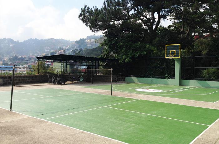 フィリピン留学 JIC BAGUIO - バスケットボールコート