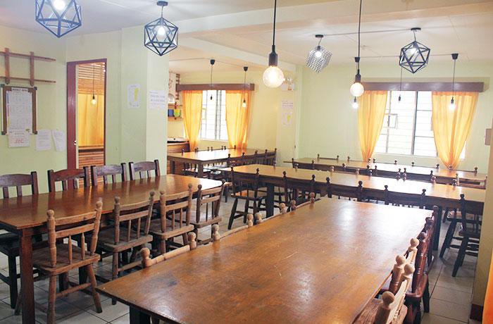 フィリピン留学 JIC BAGUIO - 食堂