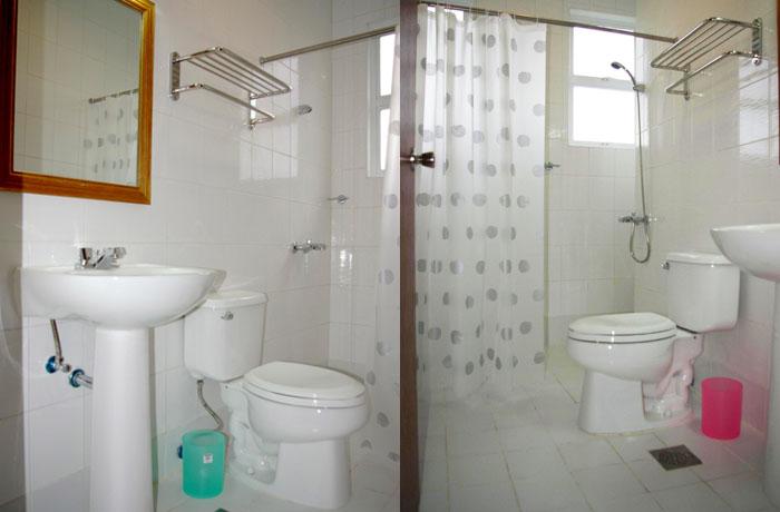 フィリピン留学 JIC CEBU - トイレ・バスルーム