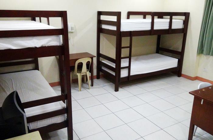 フィリピン留学 JIC CEBU - 4人部屋